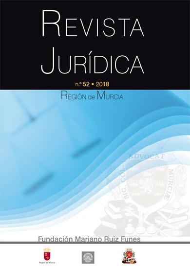 Publicado el número 52 de la Revista Jurídica de la Región de Murcia